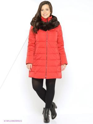 Пальто Windward. Цвет: красный