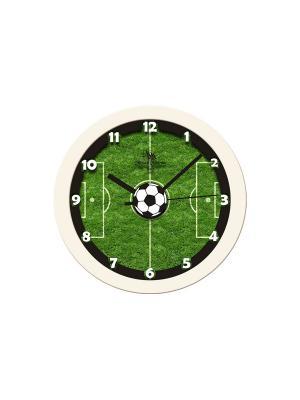 Часы настенные Михаилъ Москвинъ. Цвет: белый