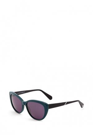 Очки солнцезащитные Enni Marco. Цвет: зеленый