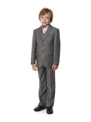 Костюм для мальчика 3-ка HERDAL. Цвет: серый