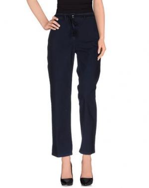 Повседневные брюки POMANDÈRE. Цвет: темно-синий