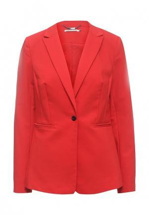 Пиджак Zarina. Цвет: красный
