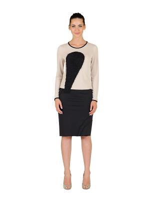 Блуза D.VA. Цвет: черный