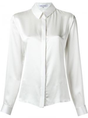 Классическая блузка Gloria Coelho. Цвет: белый