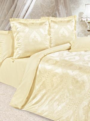 Постельное белье Лигурия ECOTEX. Цвет: желтый