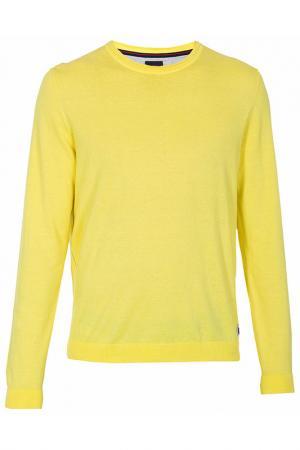 Пуловер Strellson. Цвет: желтый