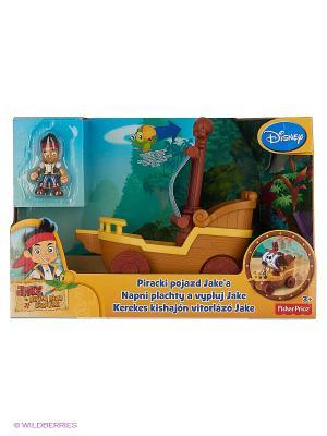 Парусник на колесах Jake & the Neverland Pirates. Цвет: желтый, синий