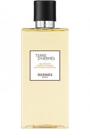 Шампунь для тела и волос Terre d Hermès. Цвет: бесцветный