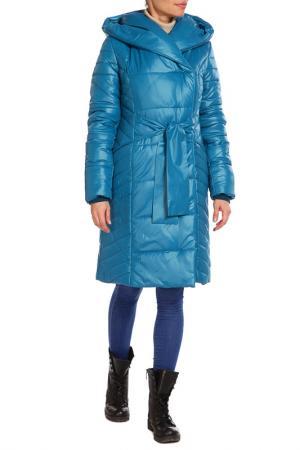 Пальто утепленное Престиж-Р. Цвет: морская волна