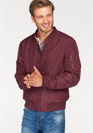 Куртка JOHN DEVIN. Цвет: бордовый, оливково-зеленый