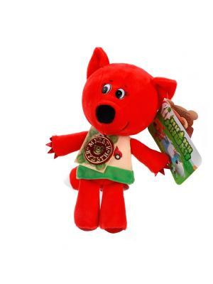 Мягкая игрушка Мульти-Пульти Мимишки. Лисичка 18 см, озвученный.. Цвет: красный,зеленый