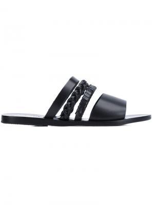 Сандалии Helene Ancient Greek Sandals. Цвет: чёрный