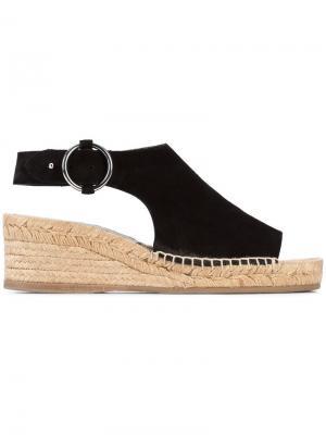 Buckled espadrille sandals Rag & Bone. Цвет: чёрный