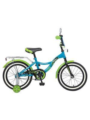 Велосипед 16 S Багира NOVATRACK. Цвет: синий