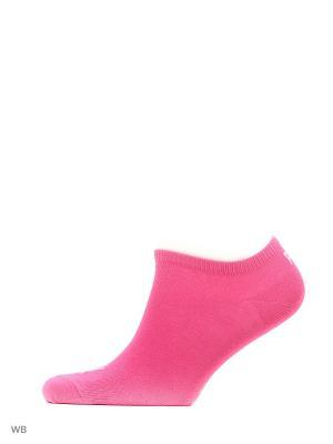 Носки UNISEX SNEAKER PLAIN 3P PUMA. Цвет: розовый, белый, фуксия