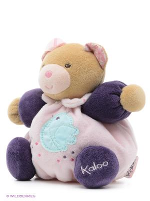 Мишка маленький - Дружба, коллекция Розочка Kaloo. Цвет: розовый