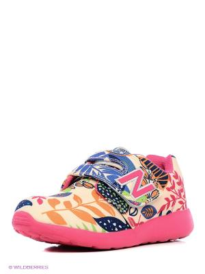 Полуботинки школьные кроссовые Зебра. Цвет: красный
