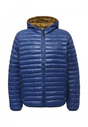 Куртка утепленная Pepe Jeans. Цвет: синий