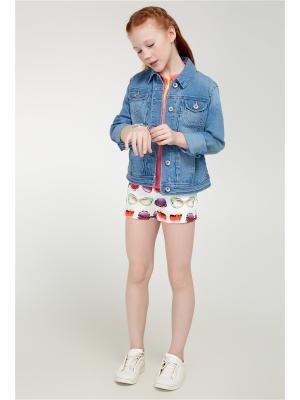 Куртка ACOOLA. Цвет: голубой