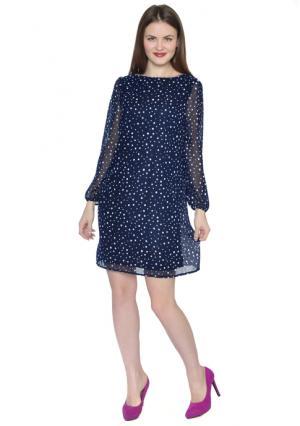 Платье Rise. Цвет: синий (темно-синий)