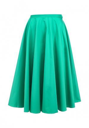 Юбка Charuel. Цвет: зеленый