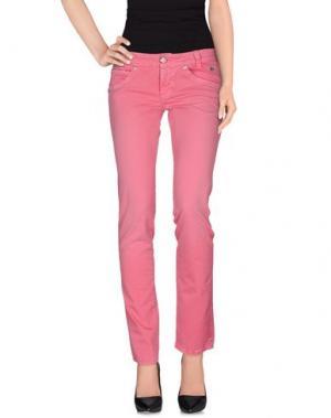 Повседневные брюки ROŸ ROGER'S. Цвет: светло-фиолетовый