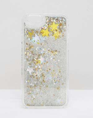 Skinnydip Чехол для iPhone 6/6s с блестками. Цвет: мульти