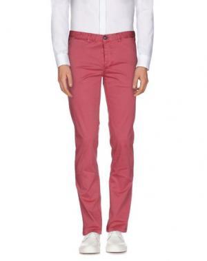 Повседневные брюки FRED MELLO. Цвет: пастельно-розовый