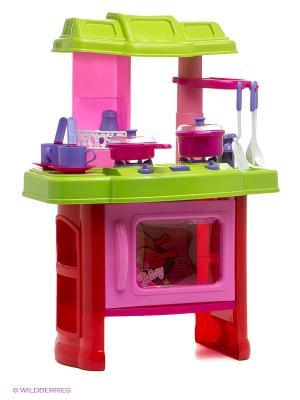Набор Кухня VELD-CO. Цвет: розовый, салатовый, красный