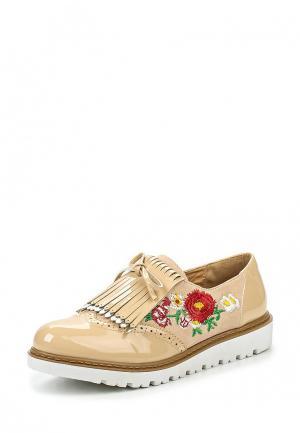 Ботинки Mellisa. Цвет: бежевый