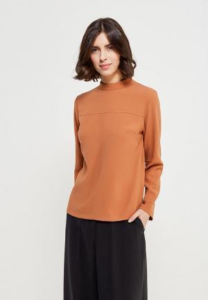 Блуза Echo. Цвет: коричневый