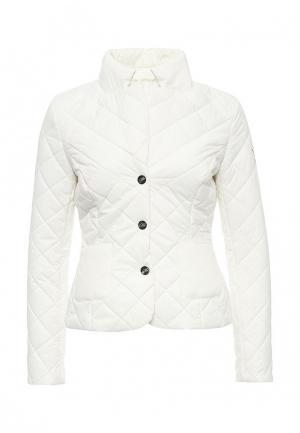 Куртка утепленная Odri Mio. Цвет: белый
