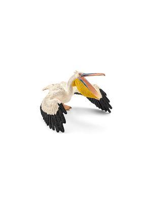 Пеликан SCHLEICH. Цвет: белый
