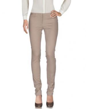 Повседневные брюки MAURO GRIFONI. Цвет: светло-коричневый