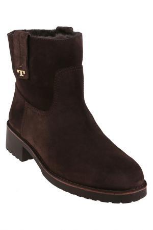 Ботинки Tory Burch. Цвет: коричневый