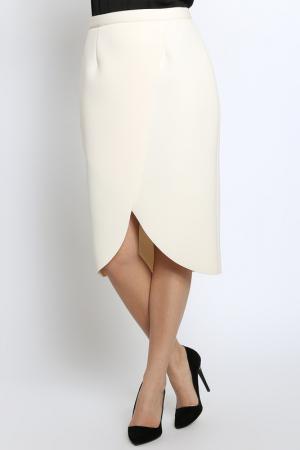 Юбка Emma Monti. Цвет: light beige