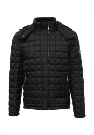 Куртка утепленная Superdry. Цвет: черный