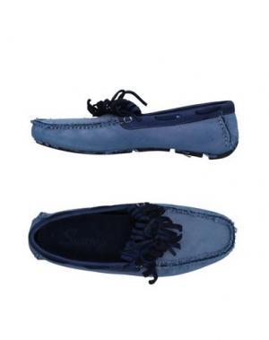 Мокасины SWAMP. Цвет: синий