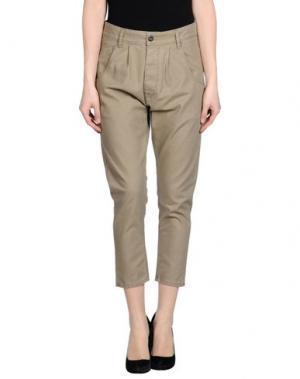 Повседневные брюки NOVEMB3R. Цвет: хаки