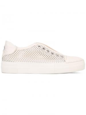 Perforated sneakers Rocco P.. Цвет: телесный