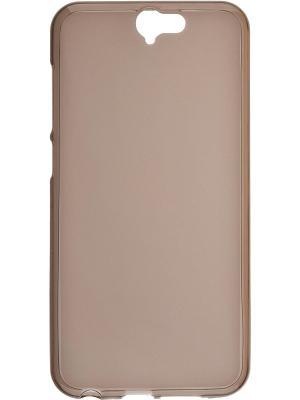 HTC One A9 skinBOX sheild silicone case 4People. Цвет: коричневый
