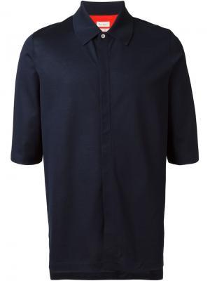 Рубашка с короткими рукавами Paul Smith. Цвет: синий
