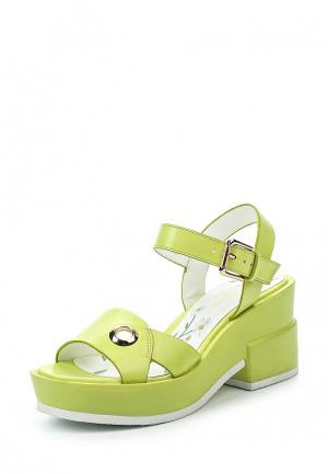 Босоножки Dino Ricci Trend. Цвет: зеленый