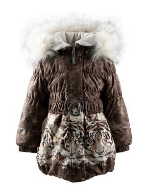 Пальто Kerry. Цвет: коричневый