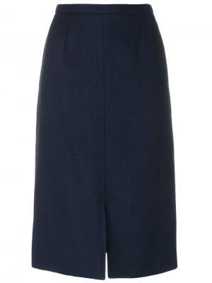 Classic pencil skirt Guy Laroche Vintage. Цвет: синий