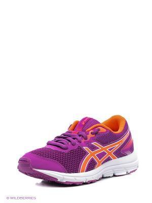 Кроссовки GEL-ZARACA 5 GS ASICS. Цвет: сиреневый, белый, коралловый