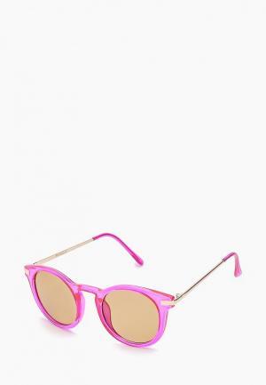 Очки солнцезащитные Mango. Цвет: розовый