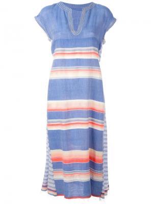 Платье Elsi Lemlem. Цвет: синий