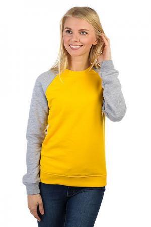 Толстовка классическая  Show Your Yellow/Grey Skills. Цвет: желтый,серый