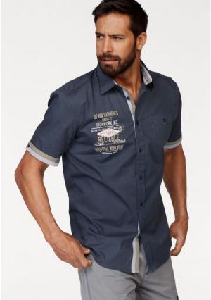 Рубашка MANS WORLD MAN'S. Цвет: дымчато-синий